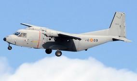 La agencia tributaria subasta dos aeroplanos c-212